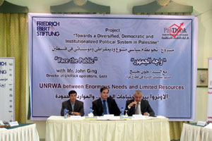 Session with Mr. John Ging- Director of UNRWA operations