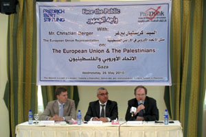 The Representative of EU to Palestine: The EU is Standing by Palestinians to Achieve the Goal of Creating the Palestinian State