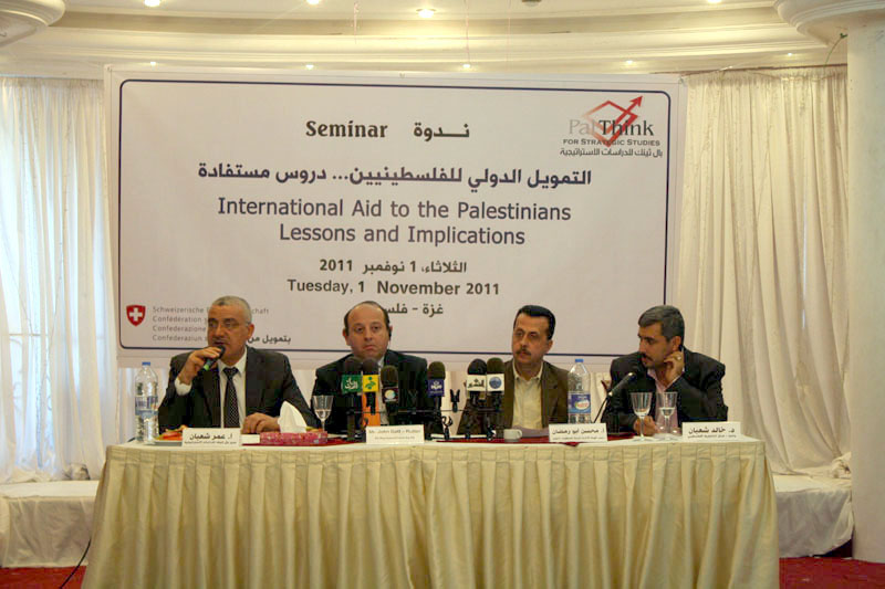 International Aid to Palestine, Lessons and Implications