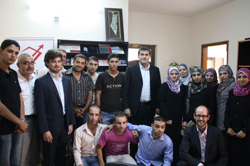 The Swiss Delegation Expresses its Support to the Palestinian Youth in the Gaza strip