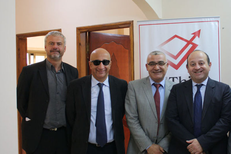 Palthink host the EU rep. to the Palestinian territories