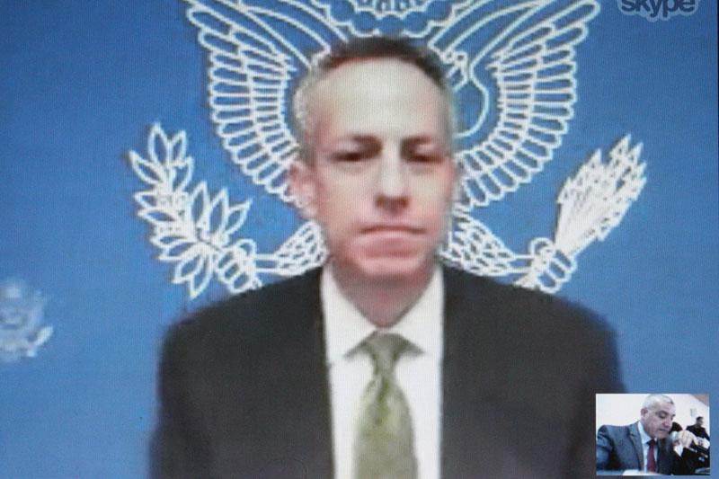U.S. Consul General in Jerusalem Michael Ratney