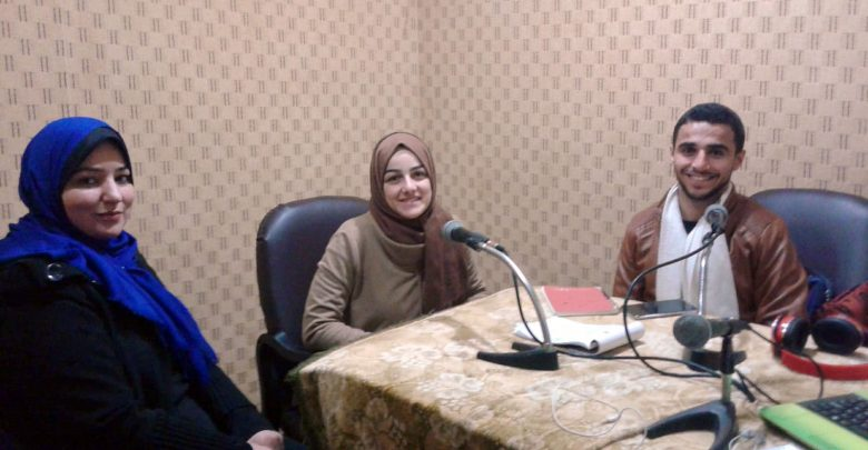 "Photo of ""Youth Participate"" Radio Program: Graduates and Freelancing"