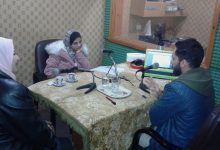 """Photo of Sixth episode of """"Youth Participate"""" Radio Program: Youth Participation in Neighborhoods Committees: Between Reality and Dream."""