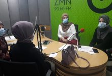 "Photo of First Episode of ""Youth Creativity"" Program: on -Gender Discrimination in University Admission Rates-"