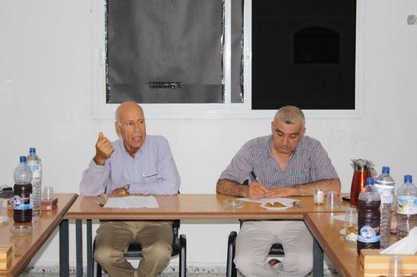"""صورة في الجلسة الحوارية الأولى بعنوان """"إطلالة على الساحة السياسية الاسرائيلية""""- نظمها بال ثينك للدراسات الاستراتيجية ضمن سلسلة """"الشرق الاوسط على مفترق طرق"""" التأكيد على انحدار المجتمع الاسرائيلي نحو المزيد من التطرف"""