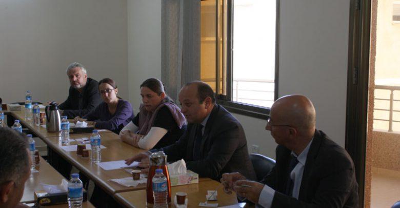 صورة بال ثينك للدراسات الاستراتيجية يستضيف ممثل الاتحاد الاوروبي في الاراضي الفلسطينية