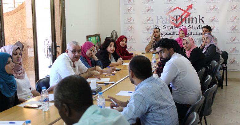 صورة بال ثينك توقع عدد من الإتفاقيات لدعم المصالحة المجتمعية