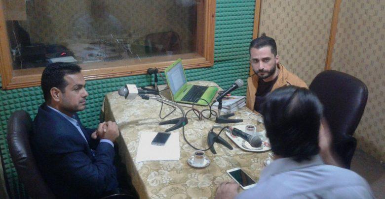 "Photo of تنفيذ أولى حلقات البرنامج إذاعي حول ""الديمقراطية والشباب"" على راديو ألوان."