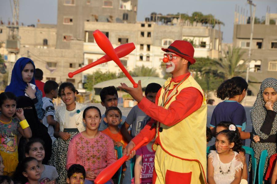 صورة جمعية الكرمل تنفذ مبادرة للأطفال عن ثقافة اللاعنف والتسامح