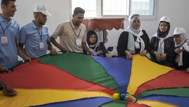 صورة انطلاق فعاليات مخيم بلدنا أحلى