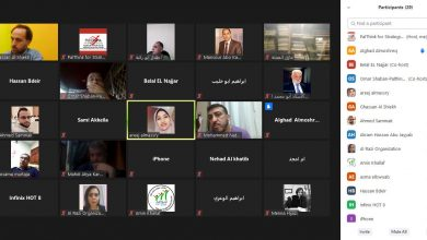 Photo of Online Session Entitled Nonviolent Experiences and How to Use Them in The Palestinian's Situation