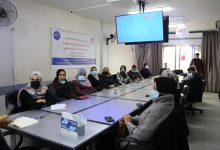 Photo of The Civil Education Board in PalThink is conducting an awareness-raising meeting on gender-based violence at the Alumni Association.