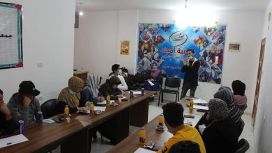 Photo of Pal-Think's Civic Education Forum Conducted Awareness-raising Meetings on Human Right, Democracy and The Palestinian Electoral System.