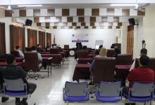 Photo of The Civic Education Board of Pal-Think Is Conducting an Awareness-Raising Meeting at the University of Gaza