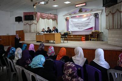 صورة ناشطون وخبراء يوصون بتفعيل دور المرأة في لجان المصالحة الوطنية