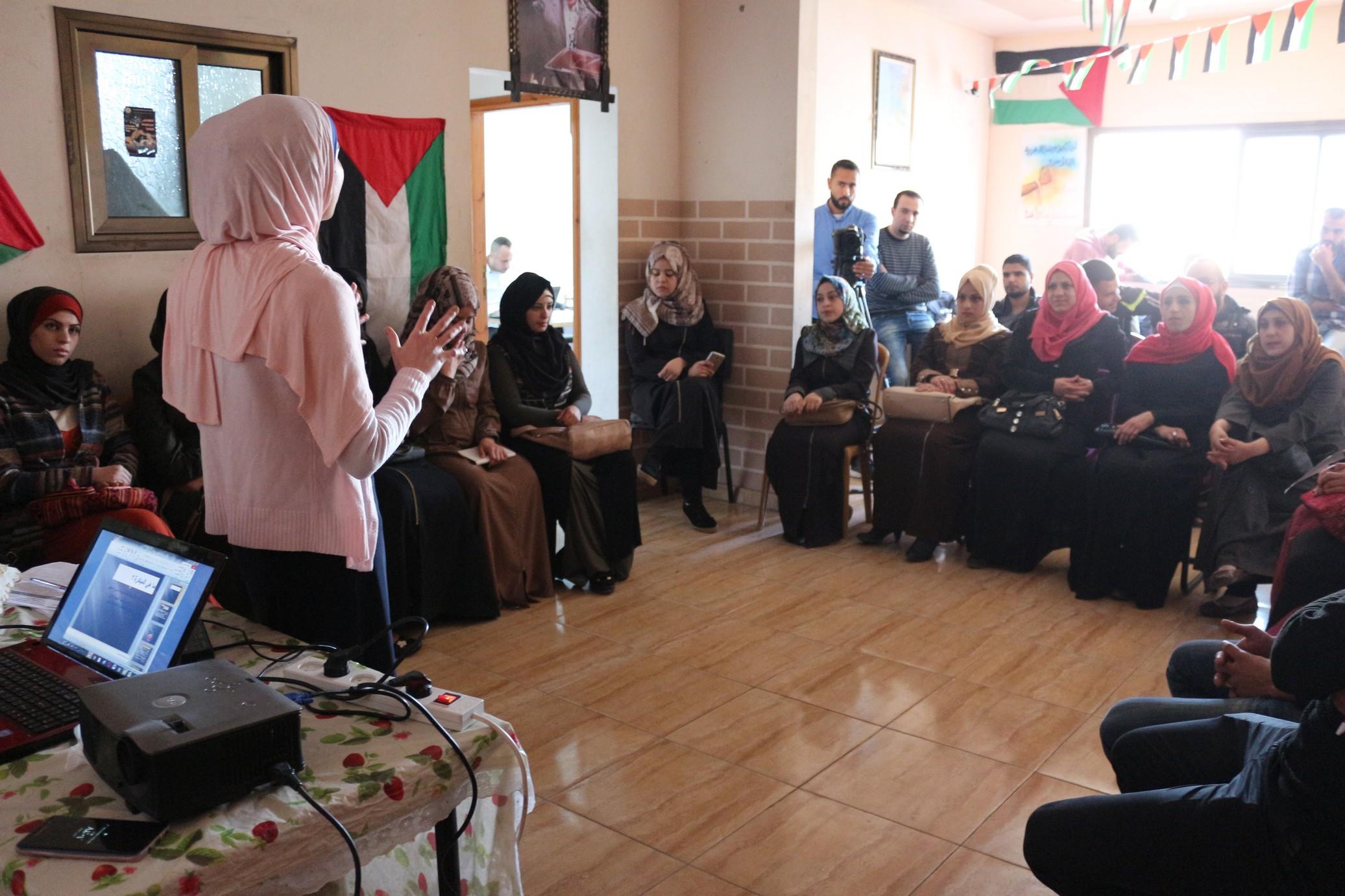 "Photo of ورشة عمل بعنوان ""المبادرات الشبابية"""