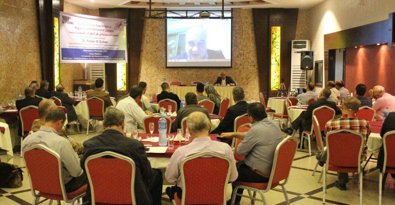 Photo of بال ثينك تستضيف د. ناصر القدوة للحديث عن القضية الفلسطينية والتطورات الإقليمية والدولية.