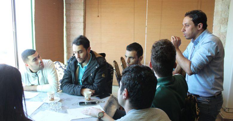 "Photo of افتتاح تدريب ""مهارات حل النزاعات وبناء السلم المجتمعي"""