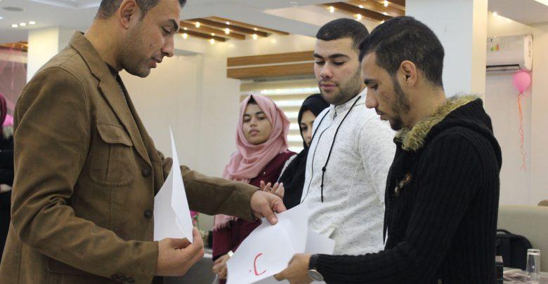 "Photo of افتتاح تدريب ""إعداد وكتابة الأوراق البحثية"""