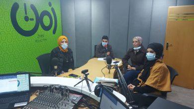 """صورة حلقة إذاعية عن ورقة بحثية بعنوان """"آليات مشاركة النساء في الانتخابات الفلسطينية""""."""